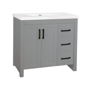 Dinard 36inch- wooden finish Vanity front