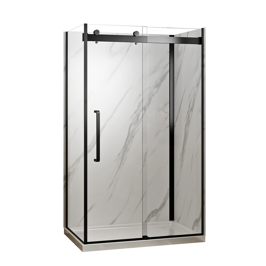 """Norwich 48"""" shower front view"""
