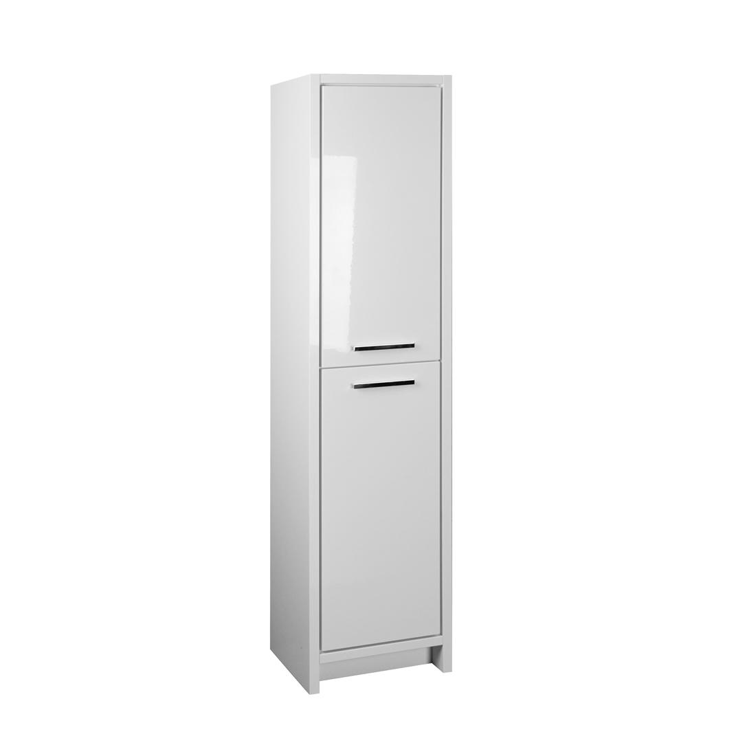 Romali 2.0 White Linen cabinet front view