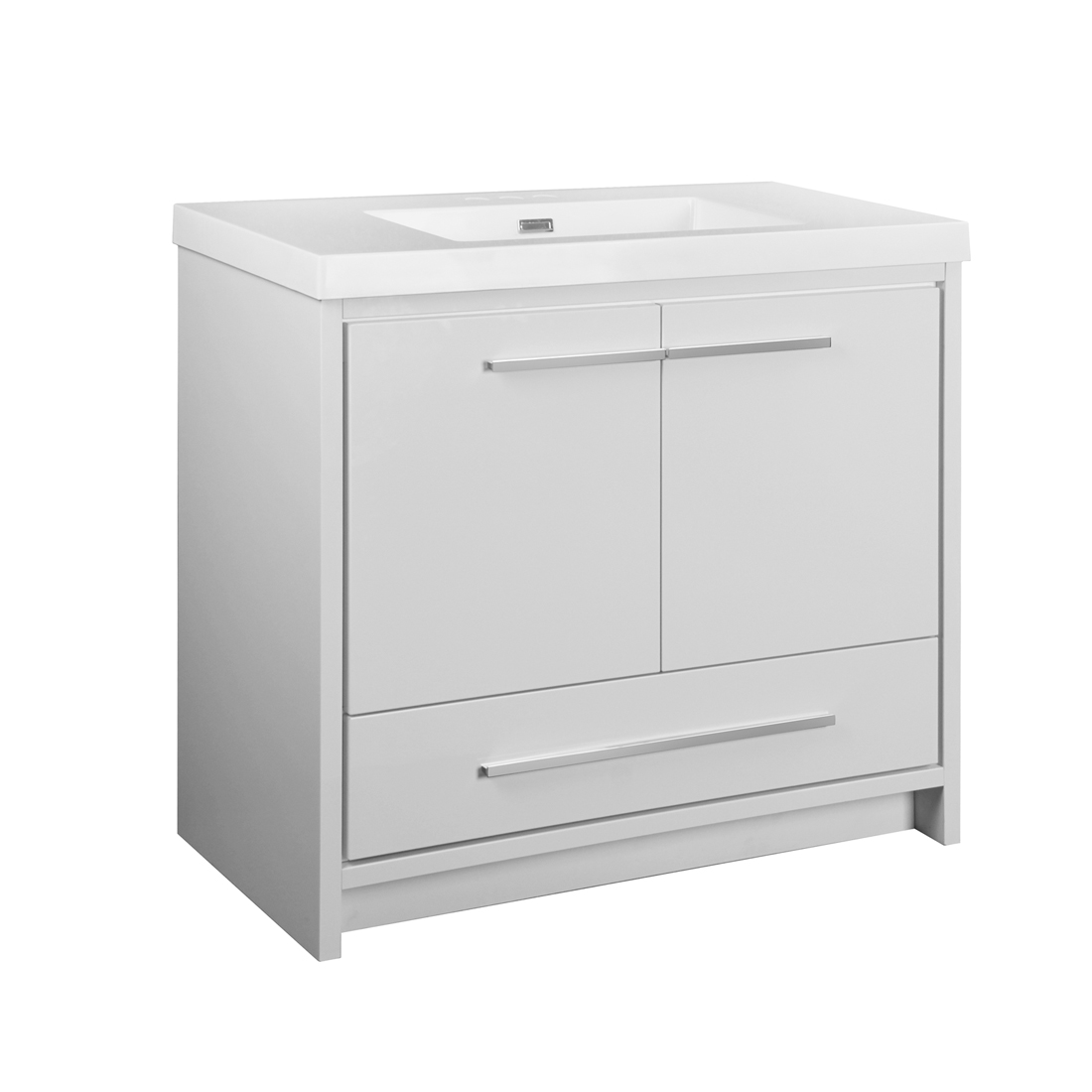 Romali 2.0 36inch-White Vanity front view