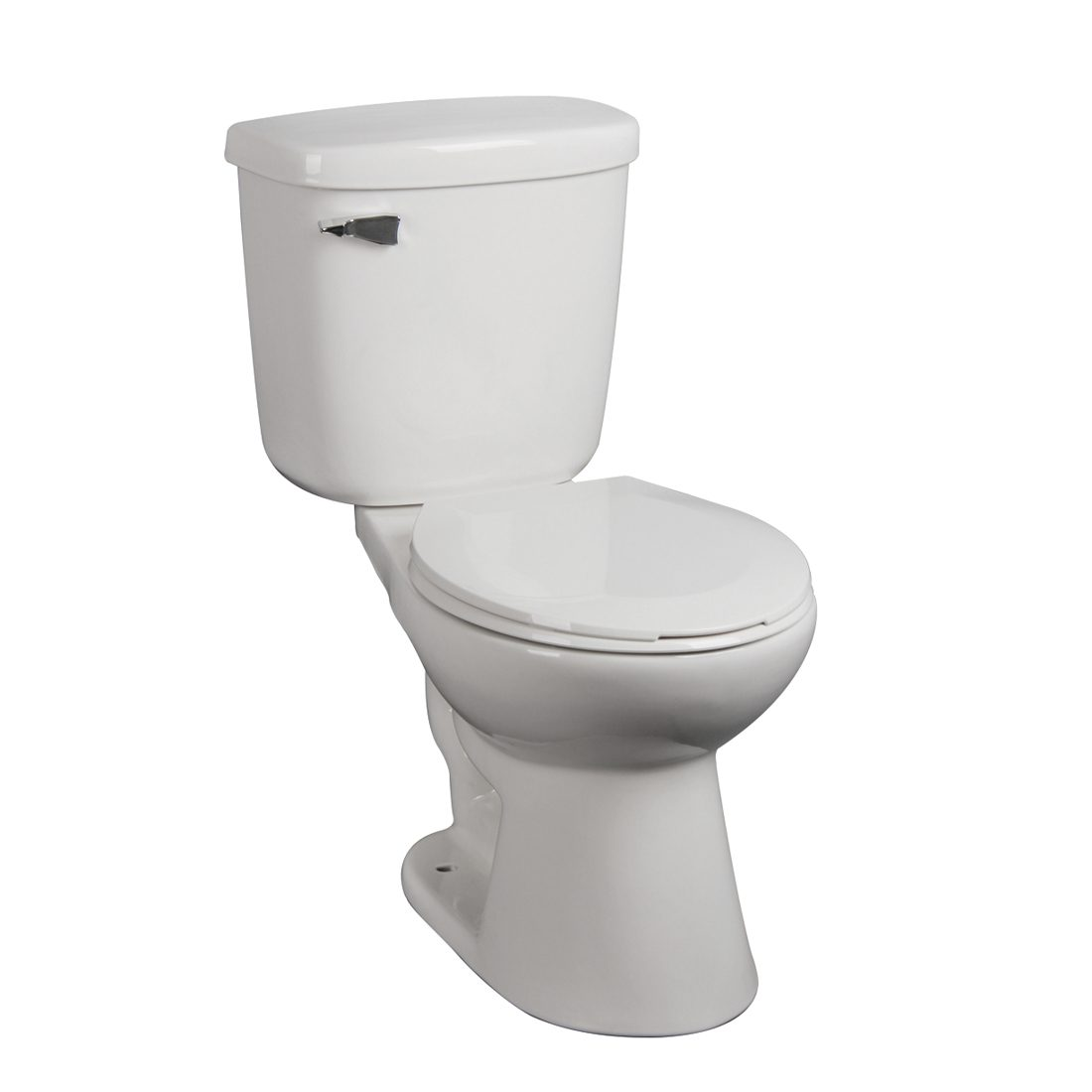 Albany Toilet 15inch 6L White Front View