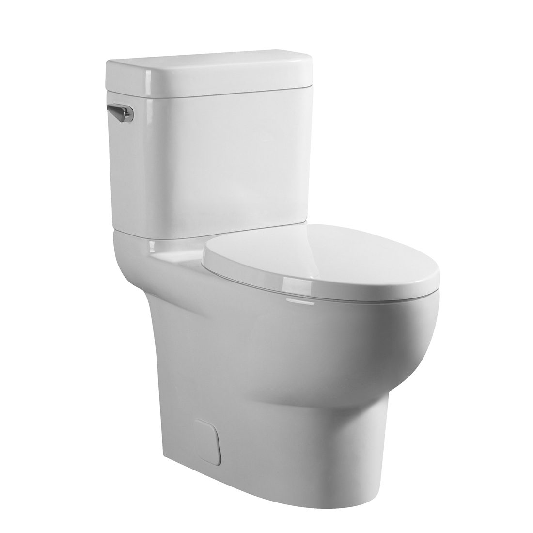 Brandon Toilet 16.5inch 4.8L White Front View