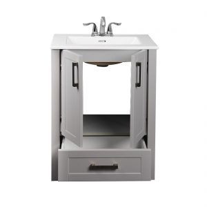 Braylee 24inch Vanity Grey Inside View