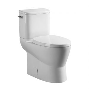 Charlotte Toilet 16.5inch 4.8L White Front View