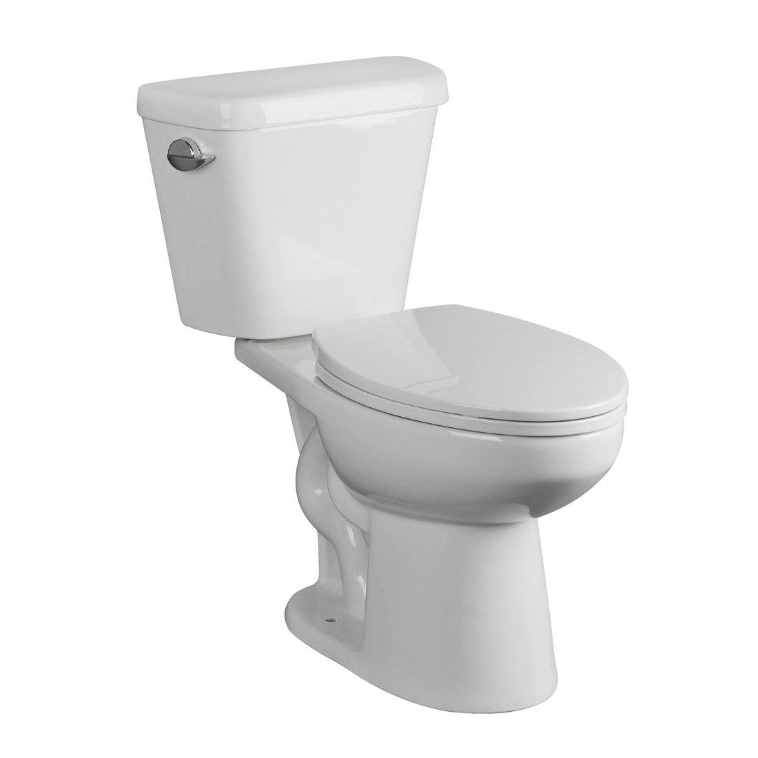 Chicago Toilet 16.5inch 3.8L White Front View
