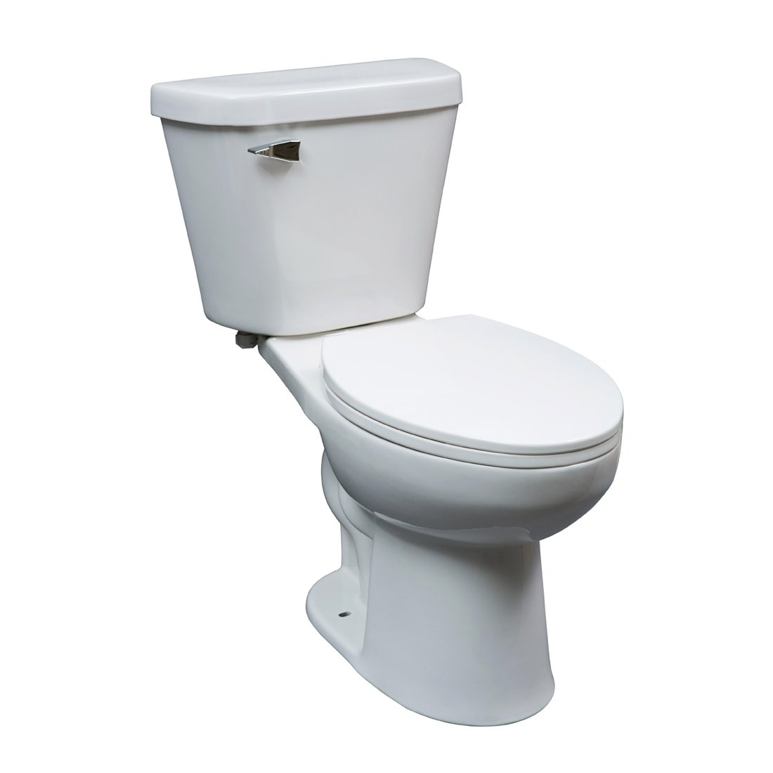 Chicago Toilet 16.5inch 4.8L White Front View