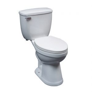 Denver Toilet 18inch 6L White Front View