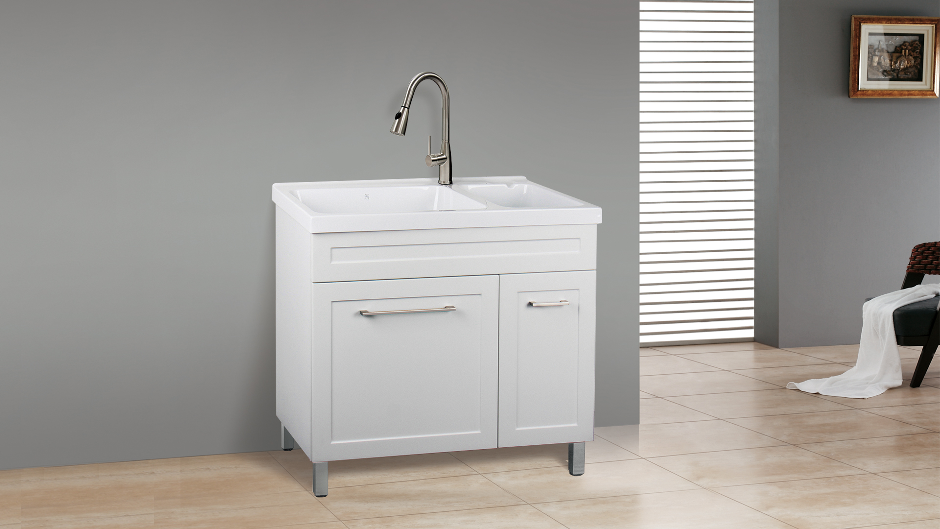 Dolphin Homeware Laundry Cabinets
