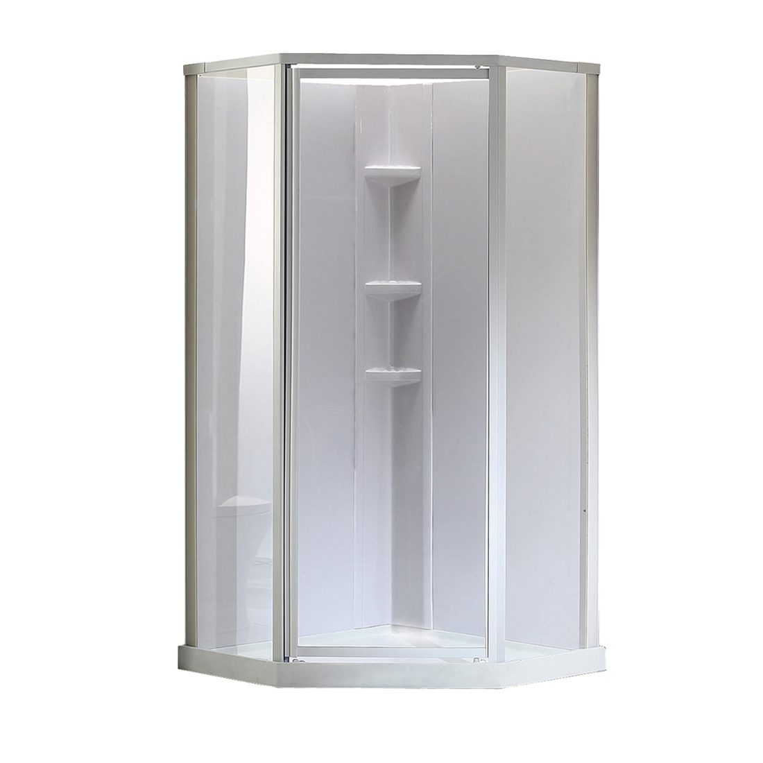 Edinburgh Shower Center 38inch Front View