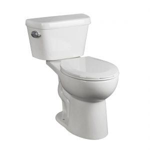 Hobbit Round Toilet 16.5inch 3.8L White Front View