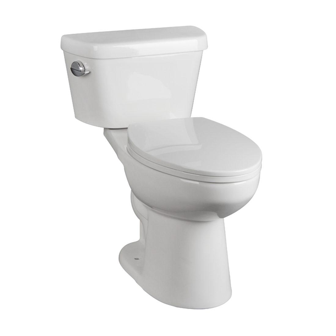 Hobbit Toilet 16.5inch 3.8L White Front View