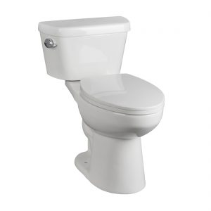 Hobbit Toilet 16.5inch 3.8L White Front View