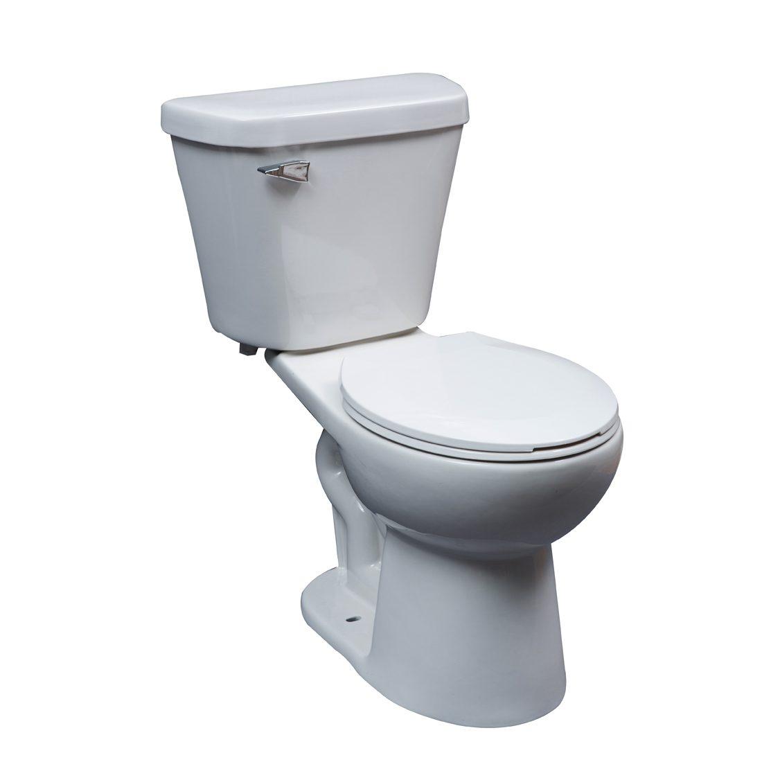 Portland Toilet 16.5inch 4.8L White Front View