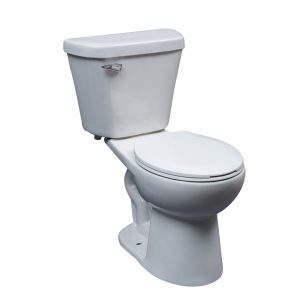 Portland Toilet 16.5inch 4.8L White Front View