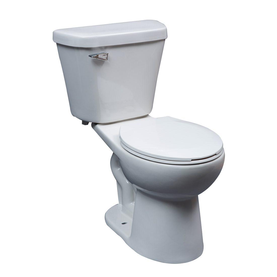 Portland Toilet 16.5inch 6L White Front View