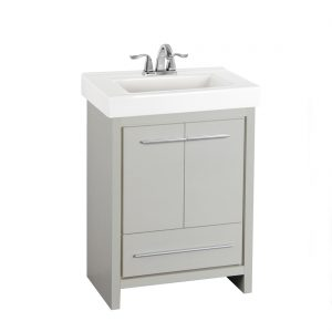 Romali 24inch Vanity Grey Front View