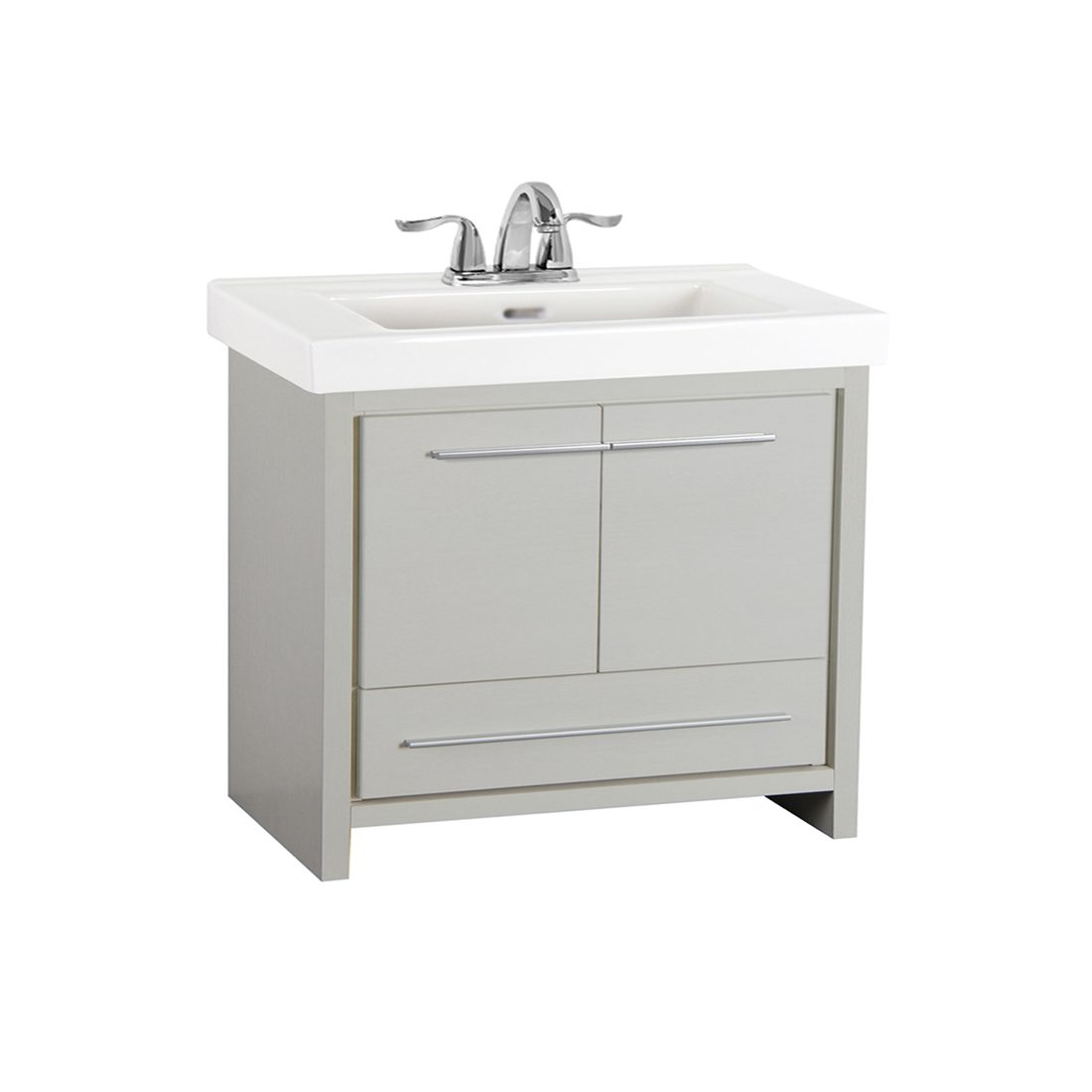 Romali 36inch Vanity Grey Front View