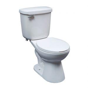 Saint John Toilet 15inch 4.8L White Front View