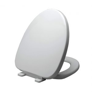 Soft Close Quick Release Seat Cover For Concealed Elongated Toilet